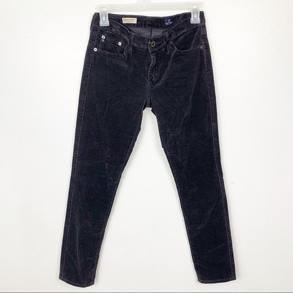 AG Adriano Goldschmied Denim - adriano goldschmied The Stevie Ankle Gray Jeans
